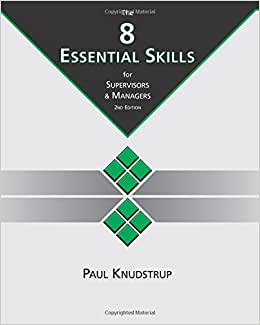 The 8 Essential Skills For Supervisors & Managers: 2nd Edition