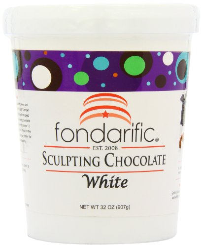 Fondarific Sculpting Chocolate White, 2 Pound (Modeling Chocolate compare prices)