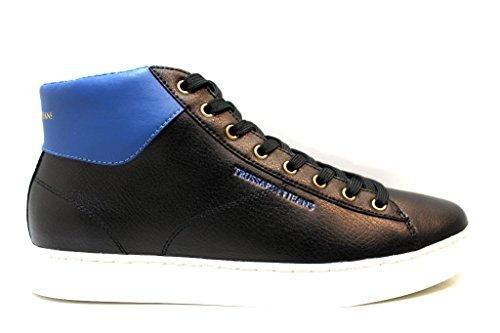 Trussardi Jeans 77S210 Nero Sneakers Polacchine Uomo Scarpa Sportiva Casual