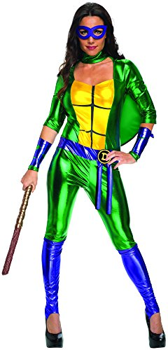 Secret Wishes Women's Teenage Mutant Ninja Turtles Donatello Costume Jumpsuit