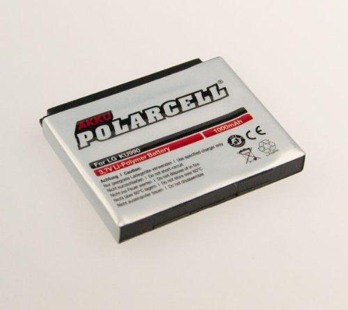 NFE² Edition Polarcell Lithium-Polymer Akku - 1000mAh - für LG Viewty - KU990, KU990i, Renoir - KC910, Maize - KB770, HB620T und Arena - KM900, HB620T und KG130