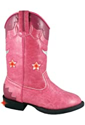 Smoky Mountain Toddler-Girls' Austin Lights W/Stars Cowgirl Boot