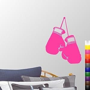 """Amazon.com - StikEez Pink Large 27.5"""" Hanging Boxing Gloves Fun ..."""