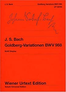 Goldberg Variations Bwv 988after The Neue Bach-ausgabepiano by Wiener Urtext Edition