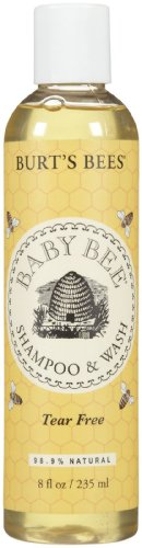 Burt's Baby Bee Tear Free Shampoo & Wash 8OZ (Pack of 6) - 1