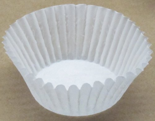 500 pcs - Reynolds White Paper Cupcake Cup Liners - STANDARD Size