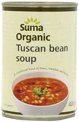 Suma Organic Tuscan Bean Soup 400 g (Pack of 12)