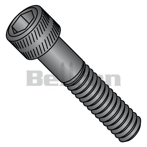 Steel Thread Cutting Screw 1 Length 82 Degree Flat Undercut Head Type F Black Oxide Finish Pack of 100 #8-32 Thread Size Phillips Drive Pack of 100 Small Parts 0816FPUB 1 Length