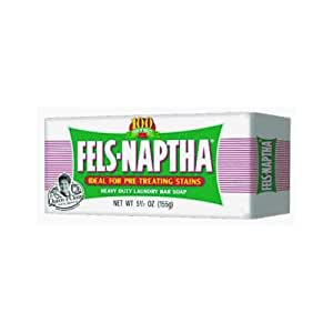 Dial Corp. 04303 Fels-Naptha Laundry Bar Soap,5.5 oz(Pack of 2)