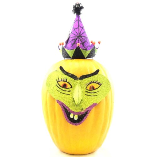Halloween WITCH PUMPKIN DRESS-UPS 67080 Witch Hat Spider Mask New