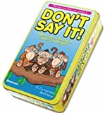Dont Say It In A Tin Game Childrens Game