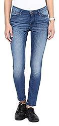 Fourgee Women's Jeans (31hds1--34, Blue, 34)