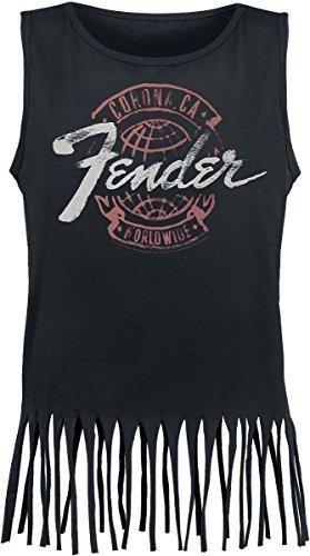 Fender Global Top donna nero XL