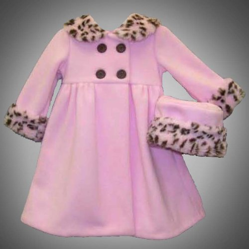 ac68dd0843c1 Good Lad - Pete s Partner Toddler Girls 2T-4T 2-Piece PINK BROWN ...