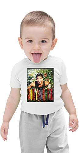 Joey Essex In The Jungle Organic Baby T-shirt Stylish Organic Baby T-shirt Fashion Fit Kids Printed Clothes by Genuine Fan Merchandise 3-6 Months