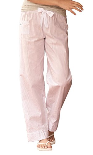 Boxercraft - VIP Womens Cotton Pinstripe Lounge Pajama Pants (Women Pinstripe Pants compare prices)