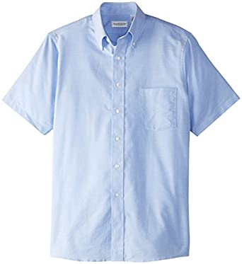 Van heusen men 39 s short sleeve oxford dress shirt at amazon for Van heusen men s short sleeve dress shirts