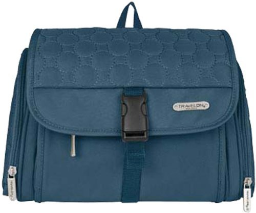 travelon-hanging-toiletry-kitone-sizesteel-blue-quilted-by-travelon