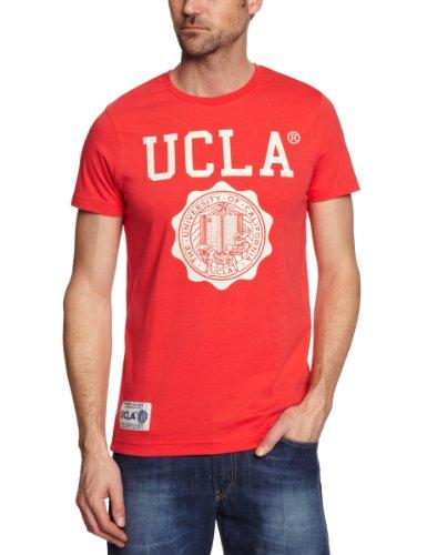 UCLA Powell Logo Men's T-Shirt Poppy Red Medium