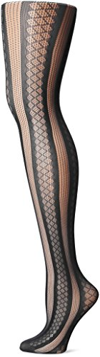 Jessica Simpson Women's Fishnet Zig Zag Tight