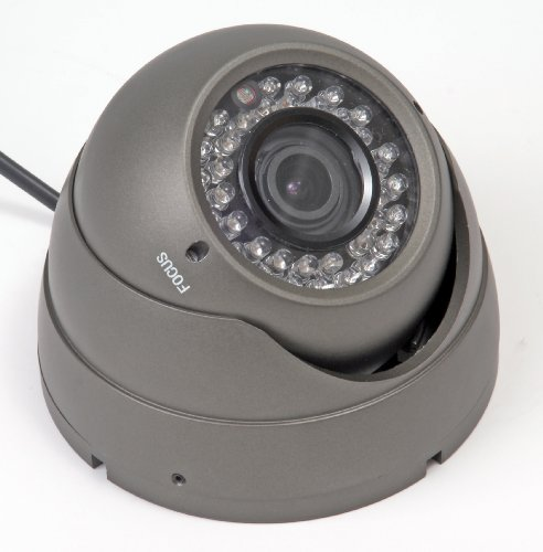 Q-See QSH49L High-Resolution Dome Color CCD Camera