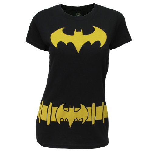 The Big Bang Theory Women's Batman Costume Junior Fit T-shirt