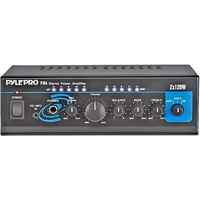240 Watt Mini Stereo Power Amplifier by Pyle