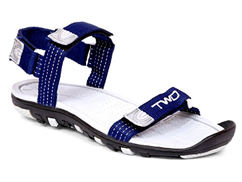 Touchwood Men's Aero Navy Sandals & Floaters-7 UK