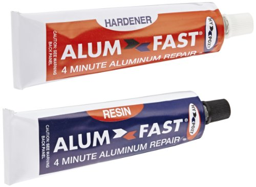 Hy-Poxy H-455 Alumfast 6.5 oz Rapid Cure Aluminum Putty Repair Kit (Aluminum Boat Repair Kit compare prices)