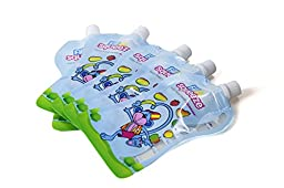Fill n Squeeze Squeezee Pouches - Pack of 40 pouches
