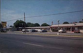 Fairfax Motel And Restaurant Roanoke Rapids North Carolina Original Vintage