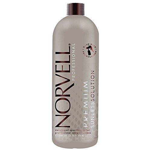 Norvell Dark Premium Sunless Solution - Liter or 33.8 oz (Spray Tan Solution compare prices)