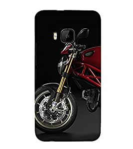99Sublimation Sport Bike 3D Hard Polycarbonate Back Case Cover for HTC One M9