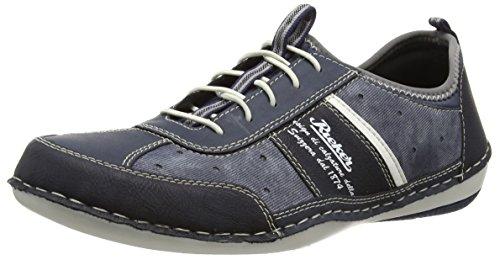 RiekerB9267 Sneakers-Men - Scarpe da Ginnastica Basse Uomo , Blu (Blau (ozean/denim/jeans/weiss/atlantis / 16)), 43