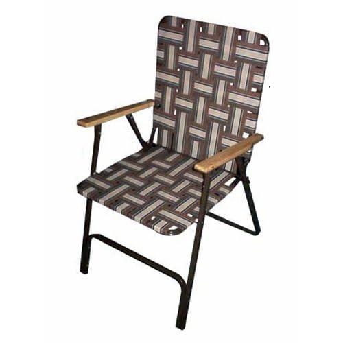 Folding High Back Web Chair