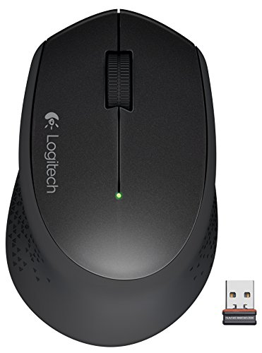 Logitech Wireless Mouse M320, Black