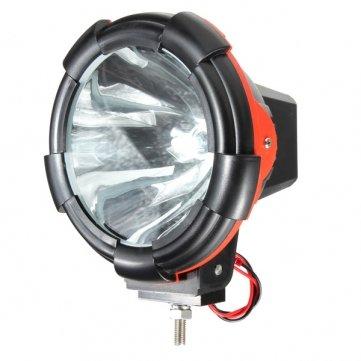 Man Friday 55W 6000K 7 pouces Xenon HID conduite de faisceaux étroits Light Work Off Road
