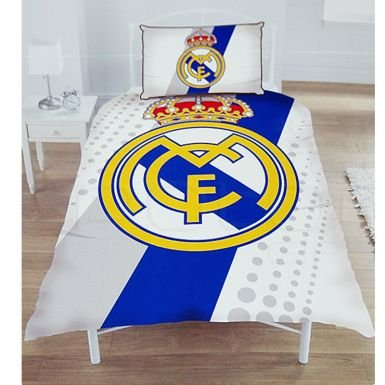 Real Madrid Single Duvet Set