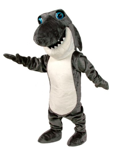 ALINCO Johnny Jaws Shark Mascot Costume (Mascot Costume Shark compare prices)