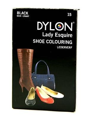 Dylon Lady Esquire Shoe Colouring Dye - Black