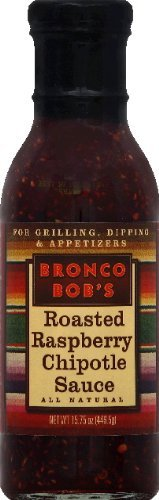 Bronco Bob's Roasted Raspberry Chipotle Sauce 15.75 Oz