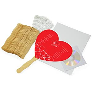 www wiltonprint com favor templates - cathy 39 s concepts diy heart fan program paper