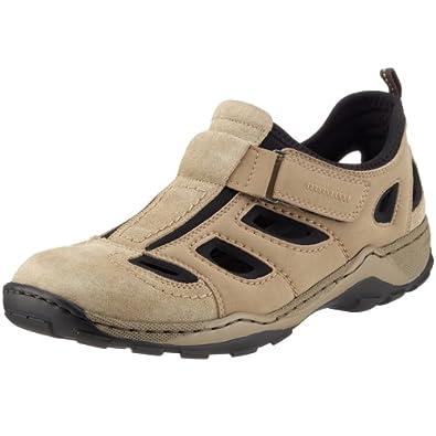 Rieker 08075, Herren Sneakers, Beige (porzellan/beige/schwarz/60), 40 EU (6.5 Herren UK)