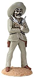 2.75 Inch Day Of The Dead Pancho Villa Revolutionary General Figurine by Summit