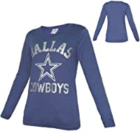 WOMENS Pink Victoria's Secret NFL Dallas Cowboys Long Sleeve Tee by Pink Victoria's Secret