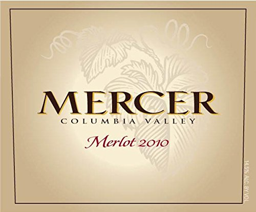2010 Mercer Estates Columbia Valley Merlot 750 Ml