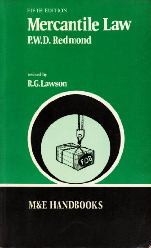 Mercantile Law (Handbook Series)