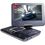 "Takara VR 139 Lecteur DVD portable écran 9"" (23 cm) USB SD"