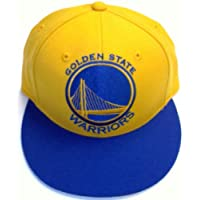 Golden State Warriors Fitted  Flat Bill Hat by Adidas - Size 7 1/2 - TR02M