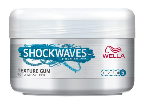 Wella Shock Waves Texture Gum 75 ml (Pack of 3)